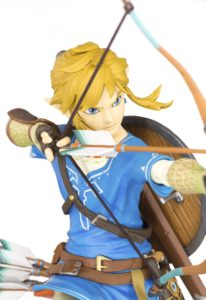 Close-Up of Zelda BOTW Link PVC Figure First4Figures