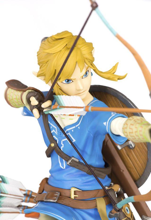Close-Up of Zelda BOTW Link PVC Figure First4Figures
