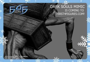 First 4 Figures Dark Souls Mimic Statue Teaser Photo