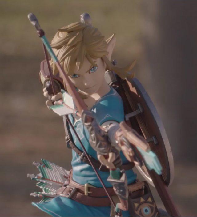 First 4 Figures Zelda Breath of the Wild Link Statue