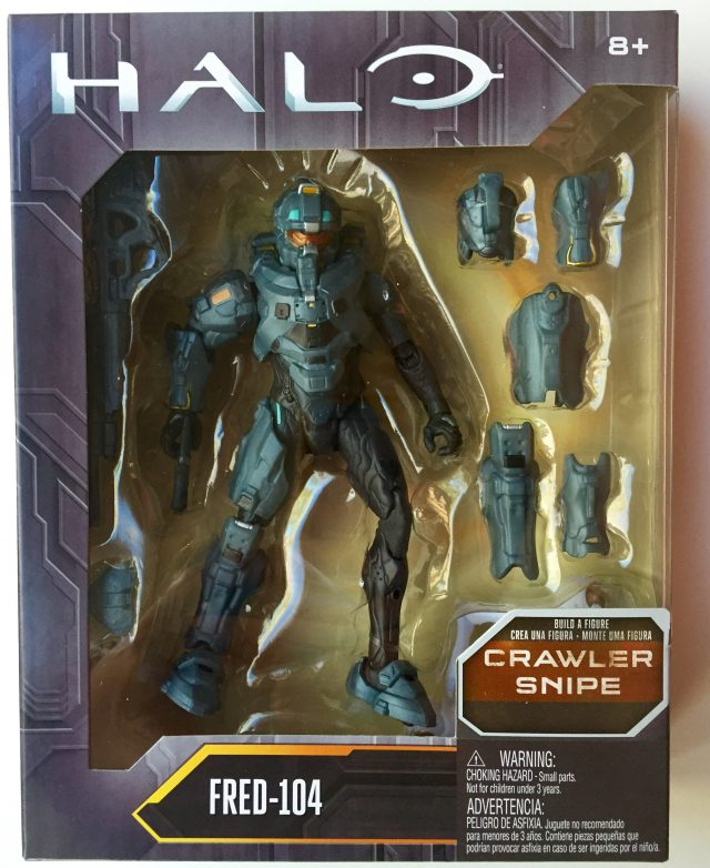 Mattel Halo Fred 104 Figure Packaged in Box