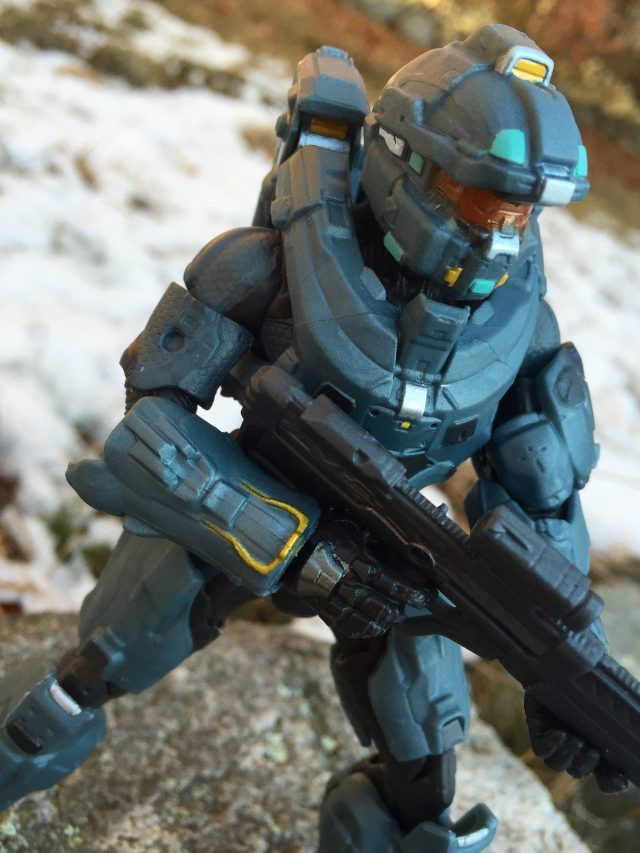 """Halo Spartan Fred 6"""" Figure Review Mattel"""