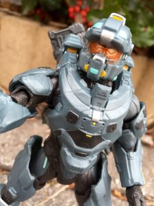 Close-Up of Halo 5 Fred-104 Six Inch Figure Mattel