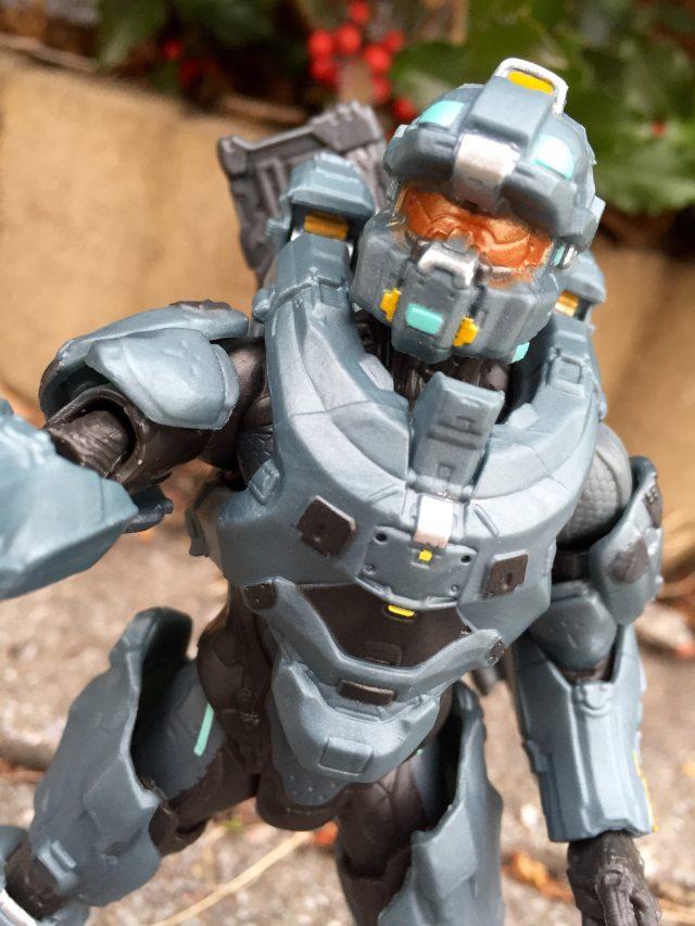 Close-Up of Halo 5 Fred-104 Six Inch Figure Mattel