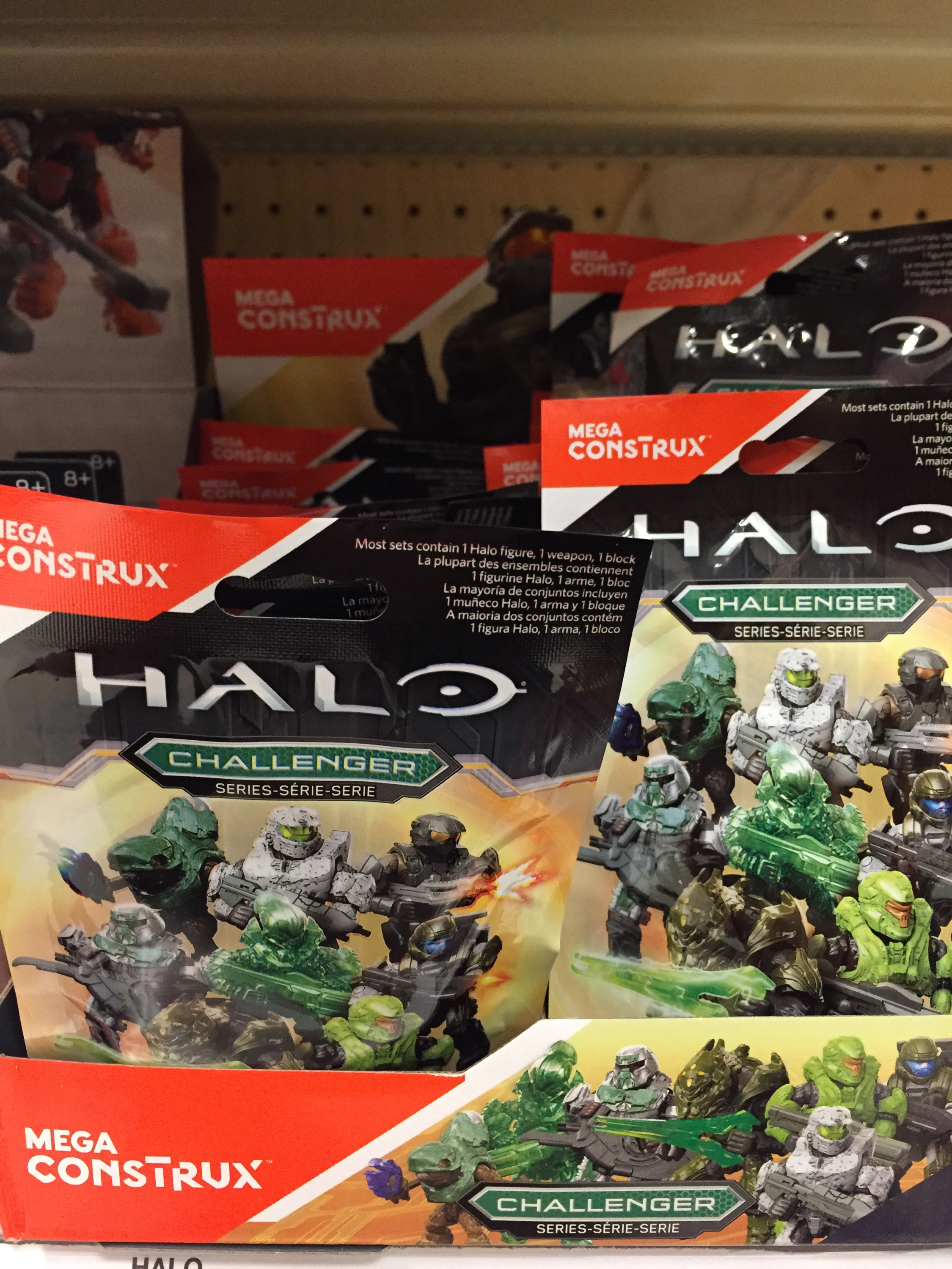 CODE NUMBER LIST: Halo Mega Construx Challenger Series Codes