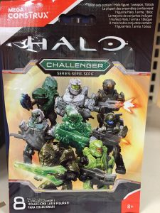 Halo Mega Construx Challenger Series Codes Number List