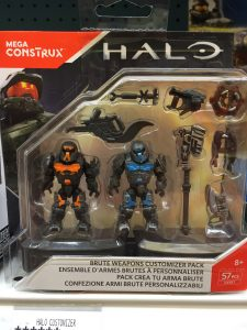 Halo Mega Construx Brute Weapons Customer Pack