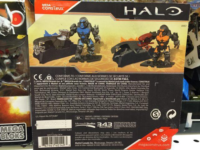 Back of Box Mega Bloks Halo Brute Customizer Pack