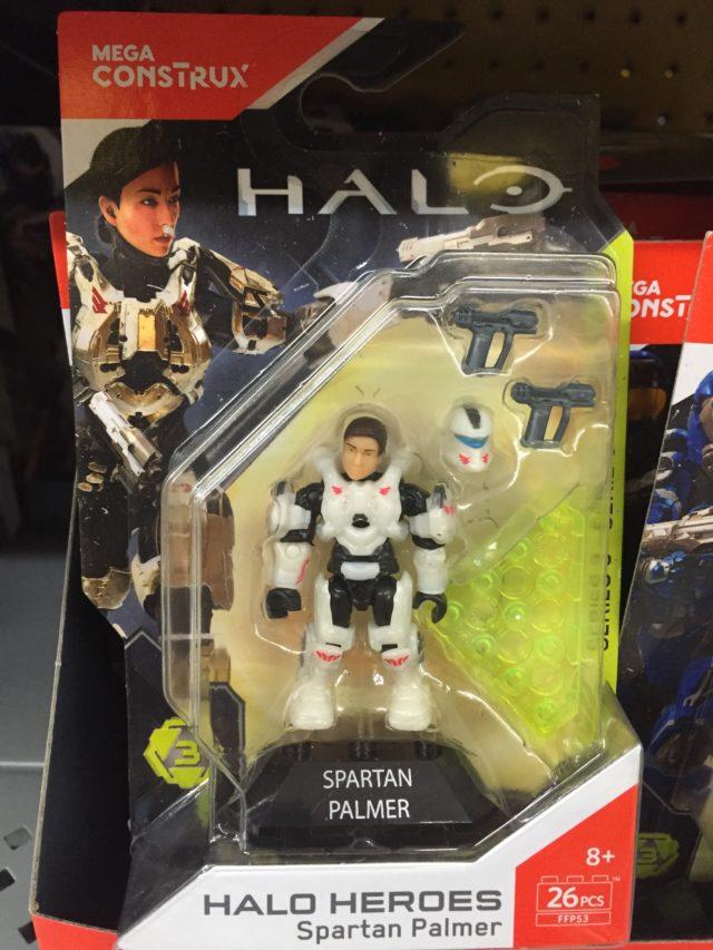 Halo Mega Construx Spartan Palmer Figure Packaged