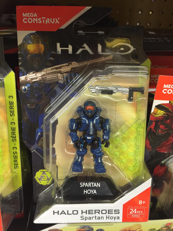 Mega Construx Halo Heroes Series 3 Figures Released & Photos