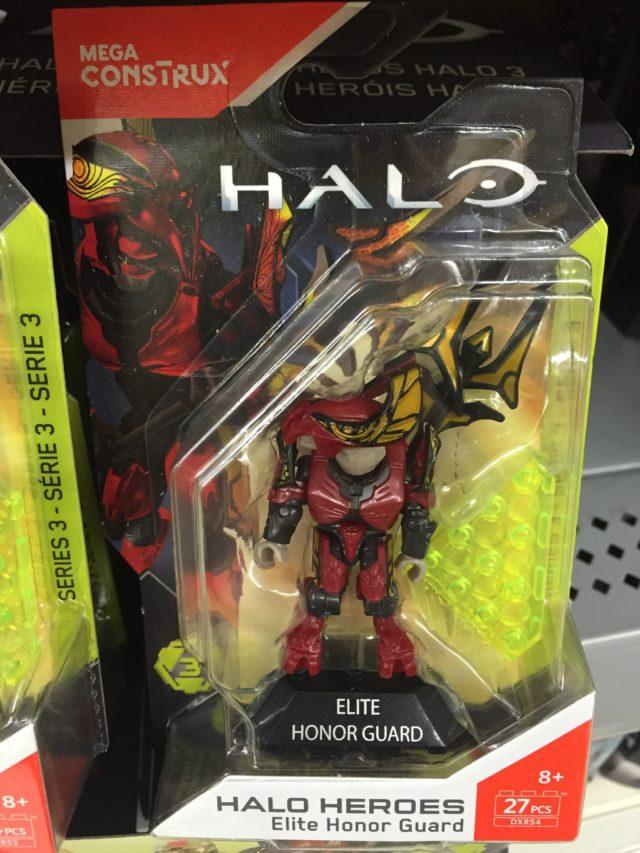 Halo Mega Construx Elite Royal Guard Figure Packaged