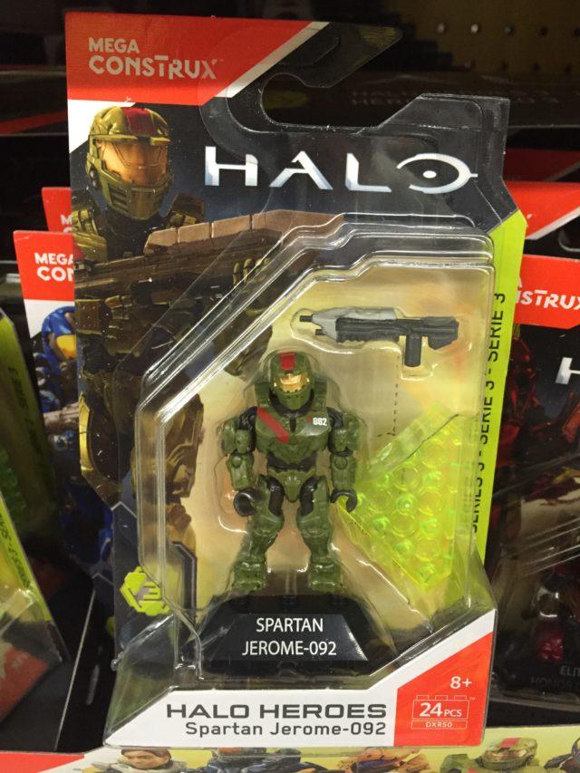 Mattel Halo Heroes Series 3 Spartan Jerome 092 Figure Packaged