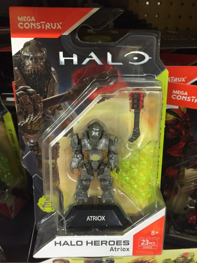 Mega Construx Halo Wars 2 Atriox Banished Brute Figure Packaged