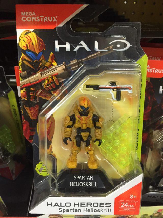 Halo Mega Construx Heroes Series 3 Spartan Helioskrill Figure