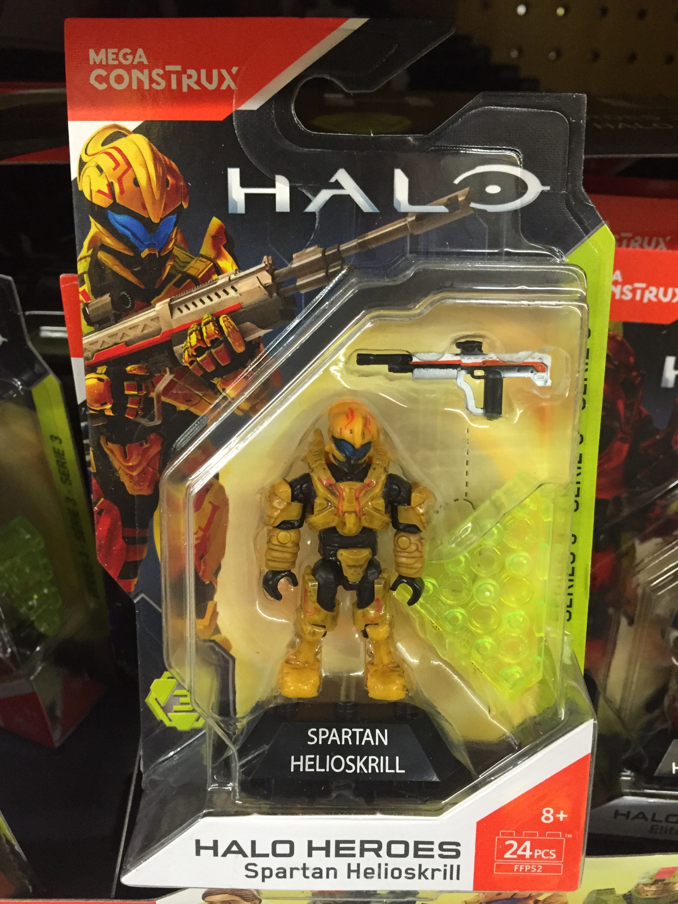 Mega Construx Halo Heroes Series 3 Figures Released & Photos