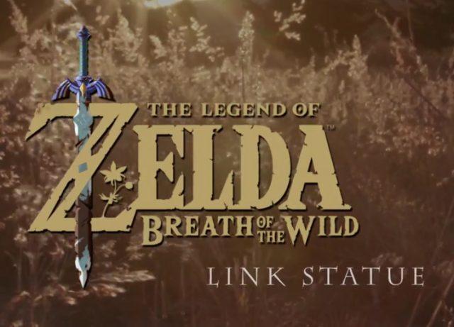 The Legend of Zelda Breath of the Wild Link Statue