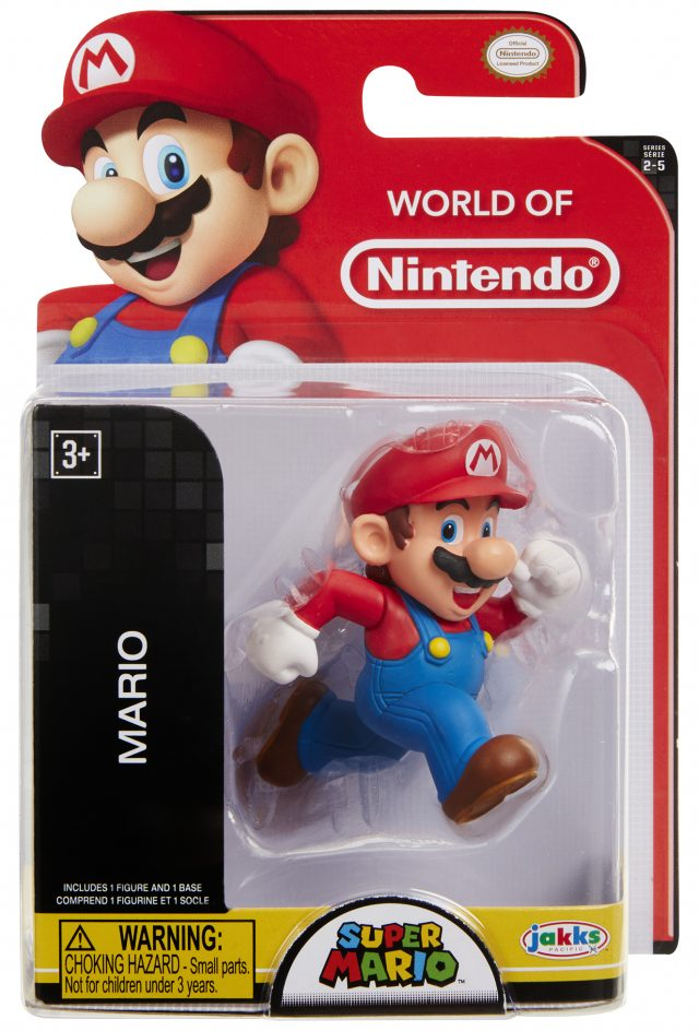 World of Nintendo 2-5 Running Mario Figure Jakks Pacific