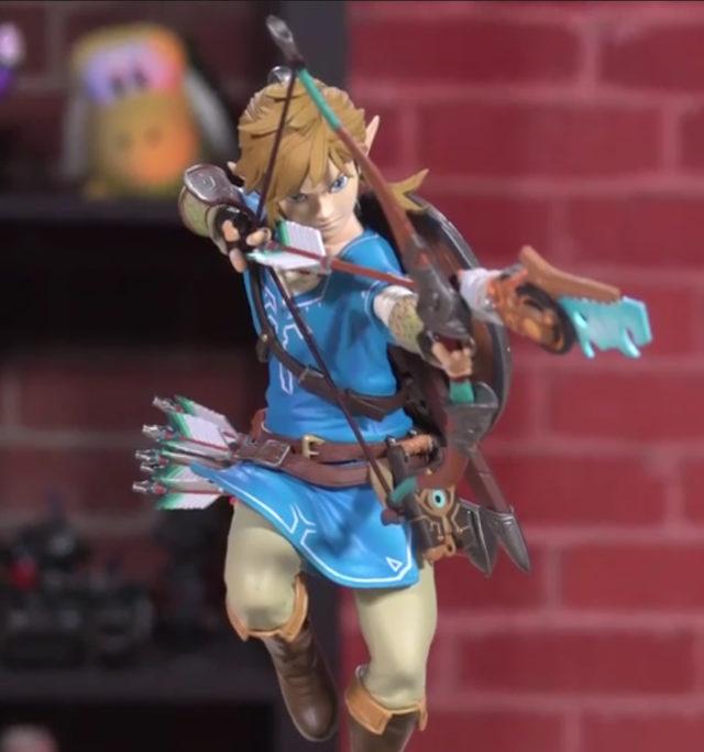 Zelda BOTW Link F4F Statue Unboxing
