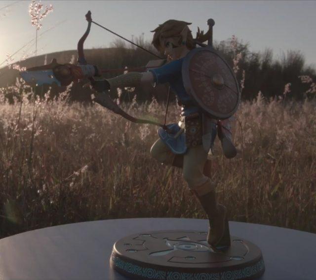 Zelda Breath of the Wild Link Figure First 4 Figures