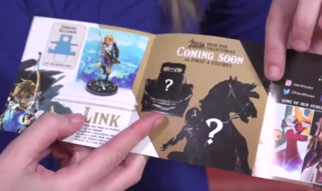 First 4 Figures Zelda Link on Horse & Sheikah Slate Statues Announced