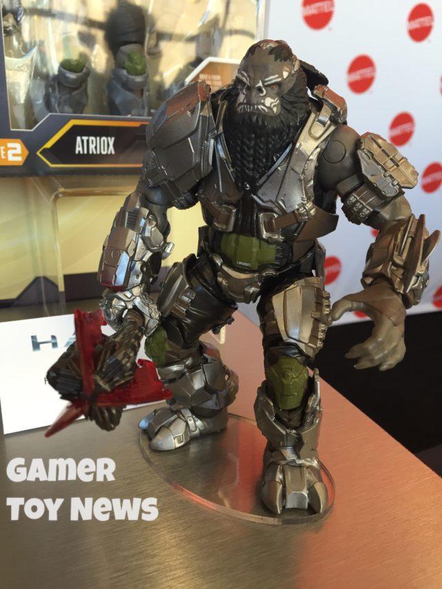 """Halo Wars 2 Atriox Mattel 6"""" Figure Toy Fair 2017"""