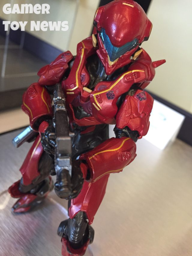NY Toy Fair 2017 Halo Spartan Vale Figure Mattel