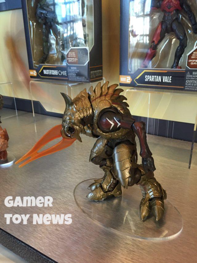 Side View of Halo 5 Arbiter Figure Mattel Toy Fair 2017