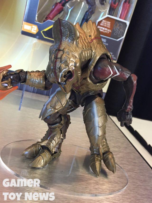 """Mattel Halo 6"""" Arbiter Figure Toy Fair 2017"""