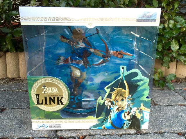 Zelda BOTW Link PVC Statue Box First4Figures
