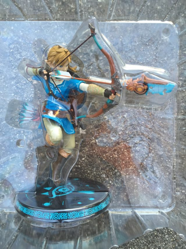 Breath of the Wild Zelda Link Figure in Bubble Packaging F4F