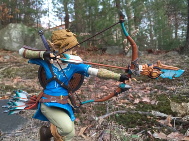 The Legend of Zelda Breath of the Wild First4Figures Link Statue Review