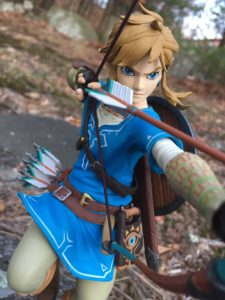 Review First4Figures Zelda Breath of the Wild Link PVC Statue