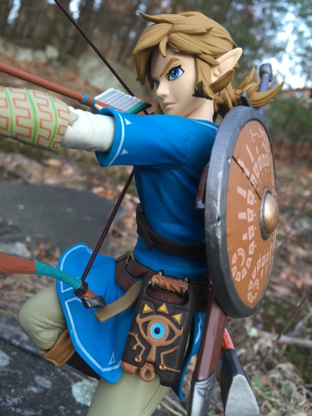 Best Buy First 4 Figures Zelda Breath of the Wild Link Statue Review