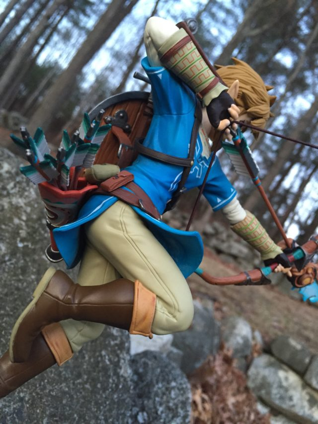 First4Figures Link Breath of the Wild Figure Bow and Arrow First 4 Figures