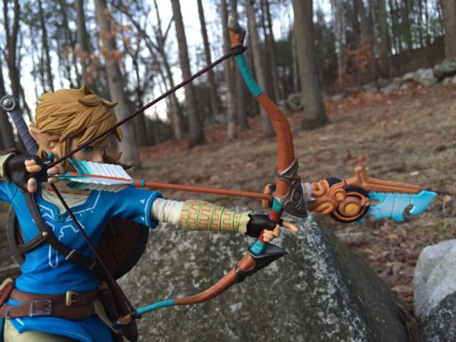 Zelda BOTW Link Bow and Arrow Close-Up F4F Figure