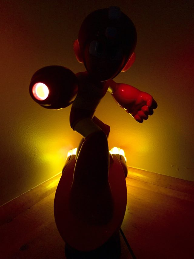 Item 2 Megaman EX Statue Lights