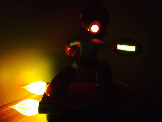 Light-Up Features on F4F Mega Man Item 2 Figure