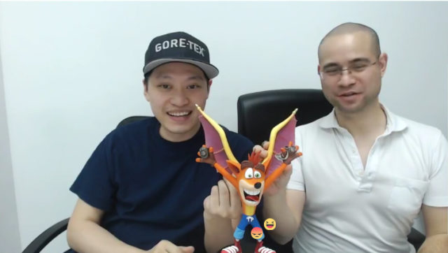 F4F Crash Bandicoot PVC Statue with Spyro's Wings
