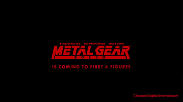 F4F Metal Gear Solid Statues Announced