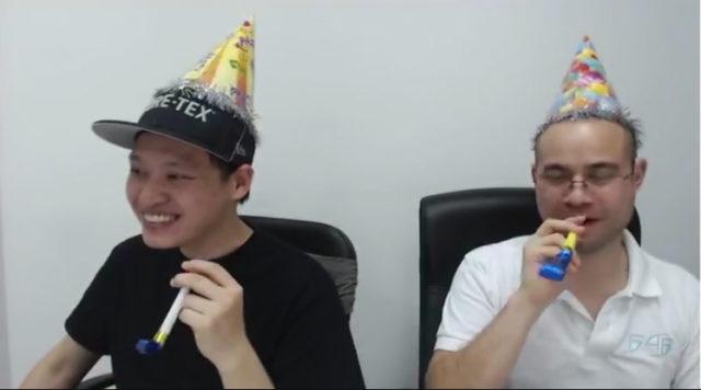 F4F Q&A 28 Screenshot Party Hats Noisemakers