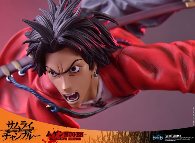 Close-Up of Intense Mugen F4F Alternate Angry Yelling Head
