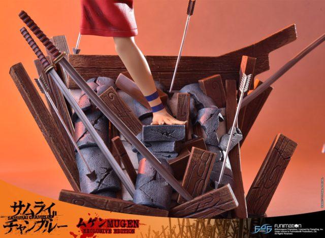 F4F Samurai Champloo Mugen Base Edo Period Roof