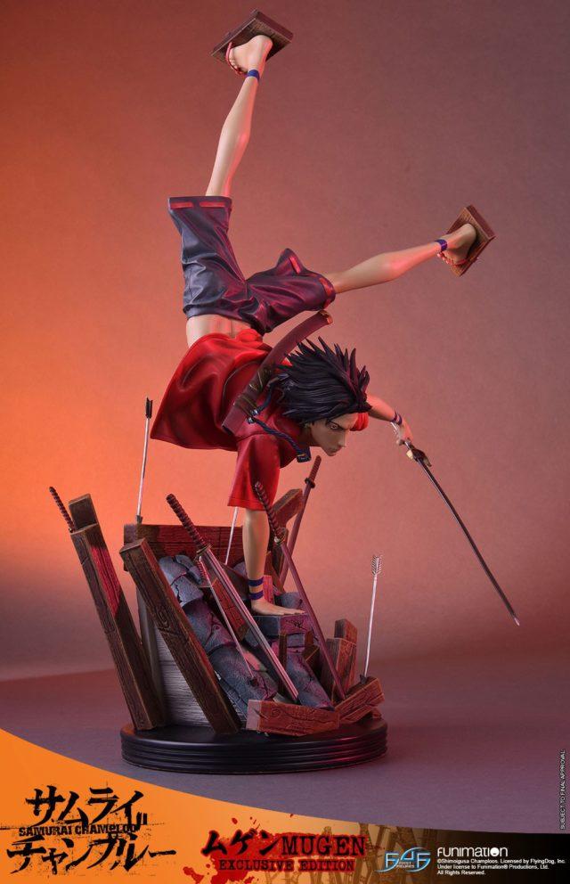 Mugen Samurai Champloo Statue First 4 Figures