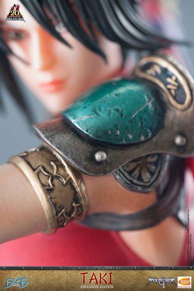Details of Soulcalibur II Taki Armor Statue