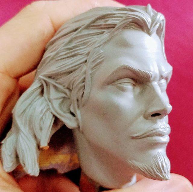 F4F Dracula Head Sculpt 2018