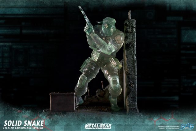 F4F Snake Stealth Camouflague Edition Statue