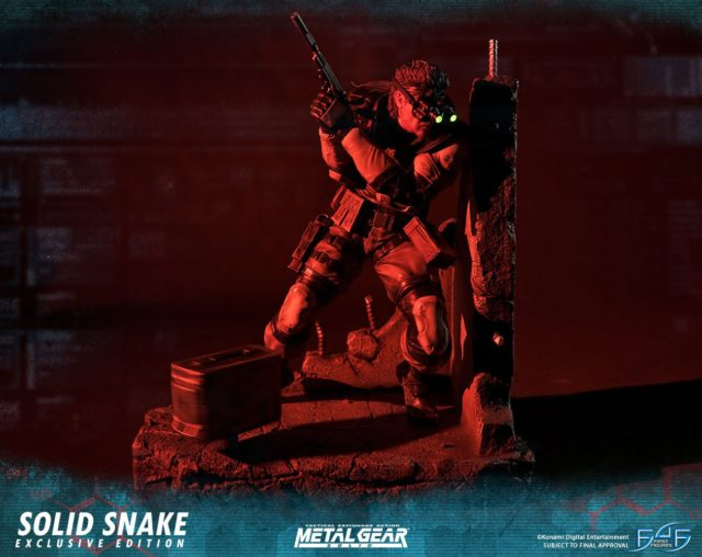 First4Figures Exclusive Snake Statue
