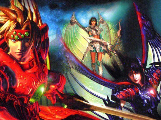 Legend of Dragoon Artwork