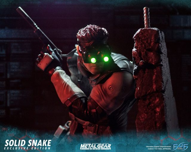 Metal Gear Solid First4Figures Statue Exclusive Night Vision Goggles
