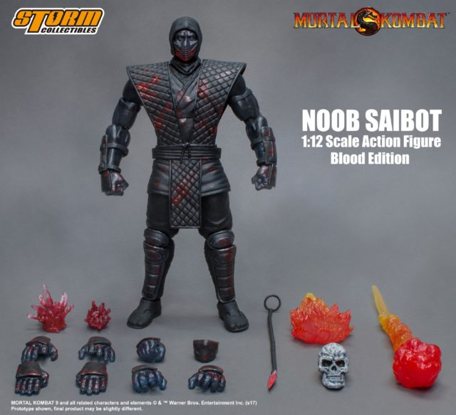 NYCC 2017 Exclusive Noob Saibot Blood Edition Figure Storm Collectibles